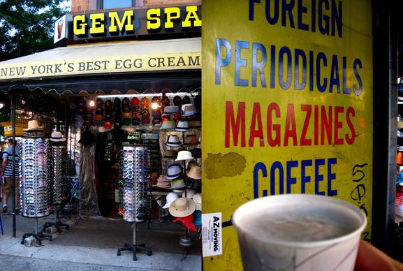 Egg cream u bet james campbell taylor for 2nd avenue salon